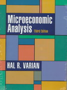 Microeconomic Analysis 3rd Edition 9780393957358 0393957357