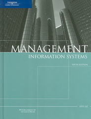 Management Information Systems 5th edition 9781418835972 1418835978