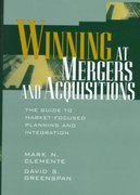 Winning at Mergers and Acquisitions 1st edition 9780471190561 047119056X