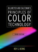Billmeyer and Saltzman's Principles of Color Technology 3rd Edition 9780471194590 047119459X