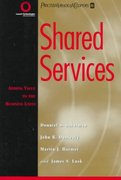 Shared Services 1st edition 9780471316213 0471316210