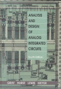 Analysis and Design of Analog Integrated Circuits 4th edition 9780471321682 0471321680
