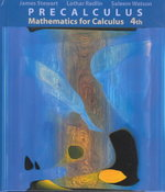 Precalculus 4th edition 9780534385415 0534385419