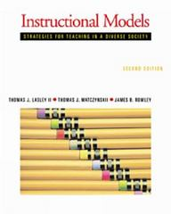 instructional models strategies for teaching in a diverse