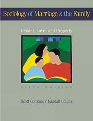 Sociology of Marriage and the Family 5th edition 9780534579609 0534579604