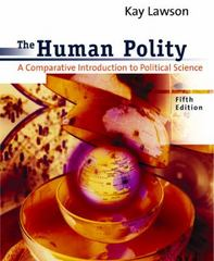 The Human Polity 5th edition 9780618043644 0618043640