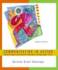 Communication in Action 8th edition 9780618166015 0618166017