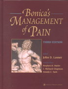 Bonica's Management of Pain 3rd edition 9780683304626 0683304623