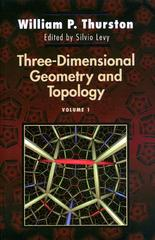 Three-Dimensional Geometry and Topology, Volume 1 0 9780691083049 0691083045