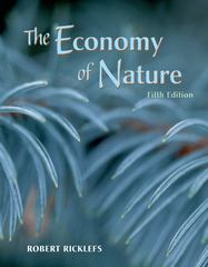 The Economy of Nature 5th Edition 9780716738831 071673883X