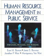 Human Resource Management in Public Service 0 9780761917533 0761917535