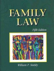 Family Law 5th edition 9780766833586 0766833585