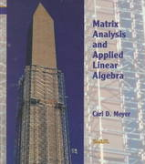 Matrix Analysis and Applied Linear Algebra 1st Edition 9780898714548 0898714540