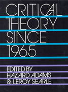 Critical Theory Since 1965 1st Edition 9780813008448 0813008441