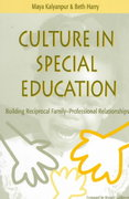 Culture in Special Education 1st edition 9781557663764 1557663769
