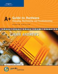A+ Guide to Hardware 4th Edition 9780619217624 0619217626