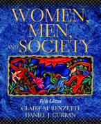Women, Men, and Society 5th edition 9780205335336 0205335330