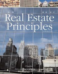 Real Estate Principles 10th edition 9780324305609 0324305605