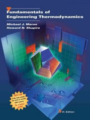 Fundamentals of Engineering Thermodynamics 5th edition 9780471274711 0471274712