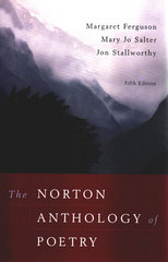 The Norton Anthology of Poetry 5th edition 9780393979206 0393979202