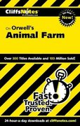 CliffsNotes on Orwell's Animal Farm 1st edition 9780764586699 0764586696