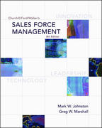 Sales Force Management 8th Edition 9780072961836 007296183X
