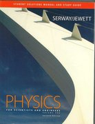 Student Solutions Manual/Study Guide for Serway/Jewett's Physics for Scientists and Engineers, Volume 1 7th edition 9780495113317 049511331X