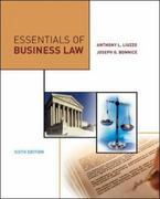 Essentials of Business Law 6th edition 9780073054278 0073054275