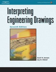Interpreting Engineering Drawings 7th edition 9781418055738 1418055735