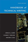 Handbook of Technical Writing 8th edition 9780312436131 0312436130