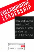 Collaborative Leadership 1st Edition 9780787900038 0787900036