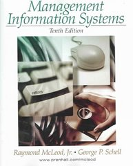 Management Information Systems 10th edition 9780131889187 0131889184