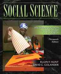 Social Science 13th edition 9780205524068 0205524060