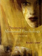 Fundamentals of Abnormal Psychology & CD-ROM 5th edition 9781429200356 1429200359