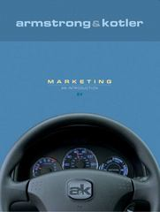 Marketing: An Introduction 8th edition 9780131865914 0131865919