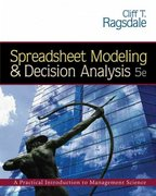 Spreadsheet Modeling and Decision Analysis (with CD-ROM and Microsoft Project 2003 120 day version) 5th edition 9780324312560 0324312563