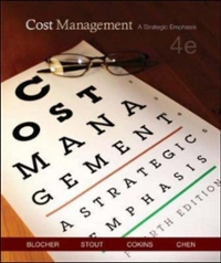 Cost Management 4th edition 9780073128153 0073128155