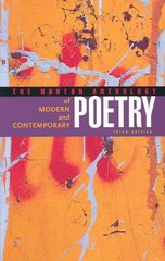 The Norton Anthology of Modern and Contemporary Poetry 3rd Edition 9780393324297 039332429X