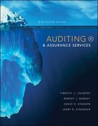 Auditing & Assurance Services 2nd edition 9780073128245 0073128244