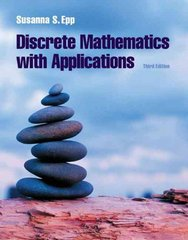 Discrete Mathematics with Applications 3rd edition 9780534359454 0534359450