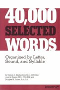 40,000 Selected Words