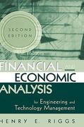 Financial and Economic Analysis for Engineering and Technology Management 2nd edition 9780471227175 047122717X