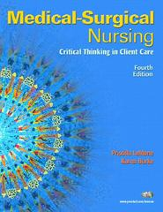 MediaLink CD for Medical-Surgical Nursing 4th edition 9780132350570 0132350572