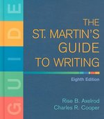 The St. Martin's Guide to Writing 8th edition 9780312446246 0312446241