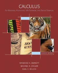 Calculus for Business, Economics, Life Sciences and Social Sciences 11th edition 9780132328180 0132328186