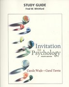Study Guide for Invitation to Psychology (all editions) 4th edition 9780132324748 0132324741