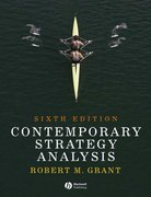 Contemporary Strategy Analysis 6th edition 9781405163095 1405163097