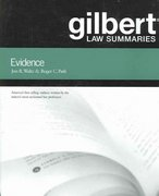 Gilbert Law Summaries on Evidence 18th edition 9780314152213 0314152210