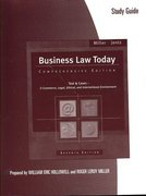 Study Guide for Miller/Jentz's Business Law Today: Comprehensive, 7th 7th edition 9780324377248 032437724X