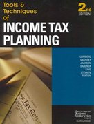 Tools & Techniques of Income Tax Planning 2nd edition 9780872186941 0872186946